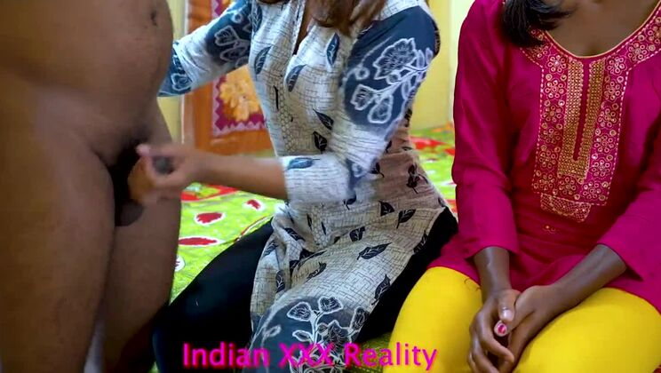 Indian best-ever 2 Sister 1 Brother fuck with clear hindi voice